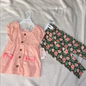 NWT Little Lass Outfit
